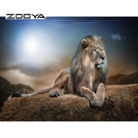 Lion 2015 New Arrival Needlework Diy Diamond Painting Cross Stitch Square Diamond Embroidery Home Decoration 5D