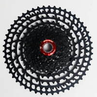 SUNTURE 11 Speed Bike Bicycle Cassete Cnc Weight 363g Mountain Bike Bicycle Freewheel 11 50T For