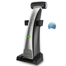 Tondeuse électrique 2 en 1 pour hommes, rasoir à feuille lavable, toilettage du corps, rasage électrique du dos, rasage de la barbe, machine pour couper les cheveux