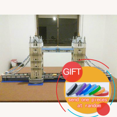 все цены на 17004 4295pcs street fight music building series London bridge assembling jigsaw blocks toys 10214 Toys lepin в интернете