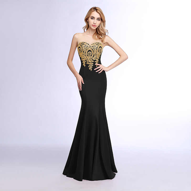 db5965d1926b ... HXTX#Host dress party dres gown prom new winter 2018 sexy fishtail wine  blue long ...