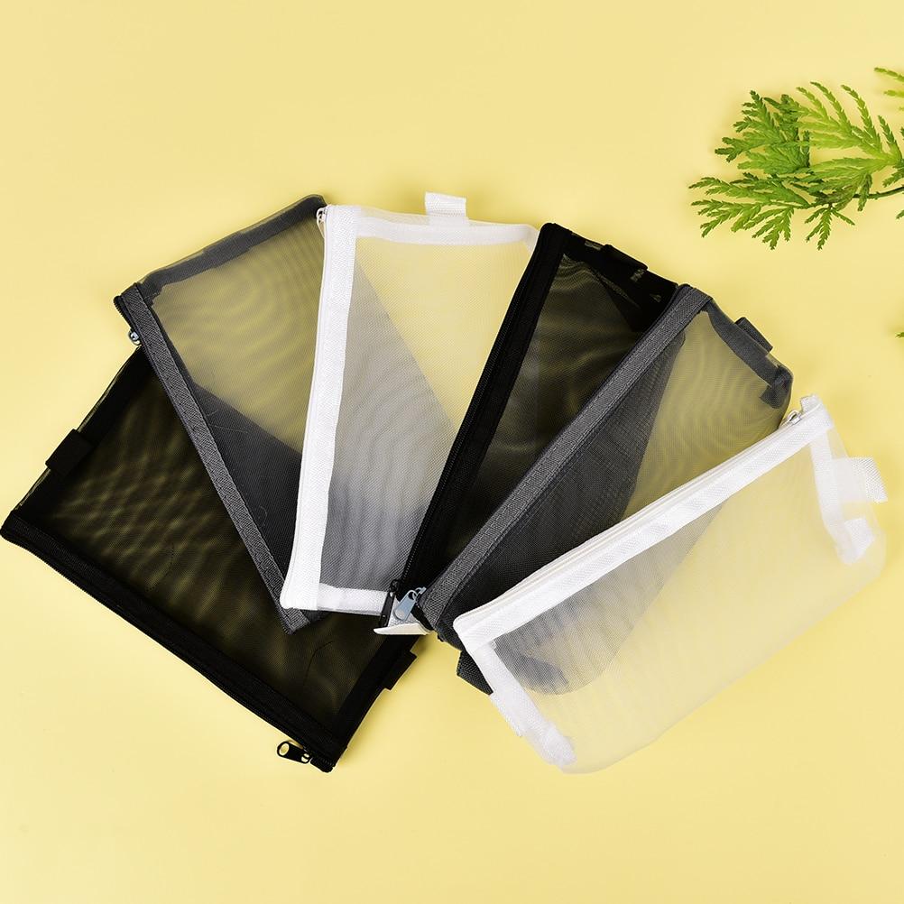 1Pcs High Quality Portable Transparent Cosmetic Bag Case Travel Makeup Bag For Women Girls 2Sizes 3Colors