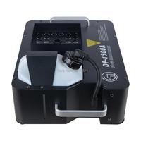 Горячая 1500 Вт светодиодный дым туман машины 24 шт. RGB DMX DJ Disco вечерние свадебные этапе эффект проектор 2320 В 2.5L Ёмкость Бесплатная доставка