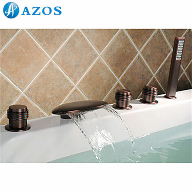 two handle shower faucet oil rubbed bronze. Bathtub Shower Faucets Oil Rubbed Bronze Bathroom Suana 5pc Sets  Showerhead Diverter Two