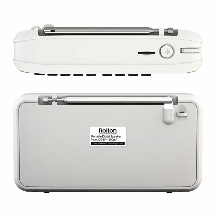Rolton E500 Mini Bluetooth բարձրախոսի տուփի - Դյուրակիր աուդիո և վիդեո - Լուսանկար 6
