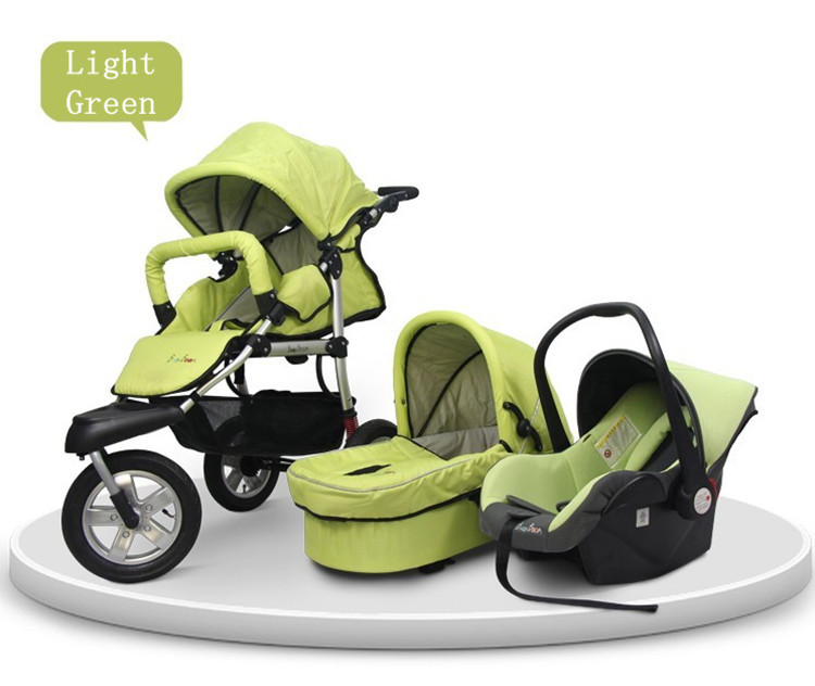a3fe7e2bf12 Baby Pram 3 In 1 0 4 Years Old Newborn Pushchair Sleeping Basket Car Seat  Wholesale Travel System Stroller New Arrivel on Sale-in Three Wheels  Stroller from ...