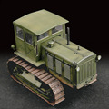 Trumpeter 07111 1/72 Russian S-65 tractor with cockpit Assembly model Toys