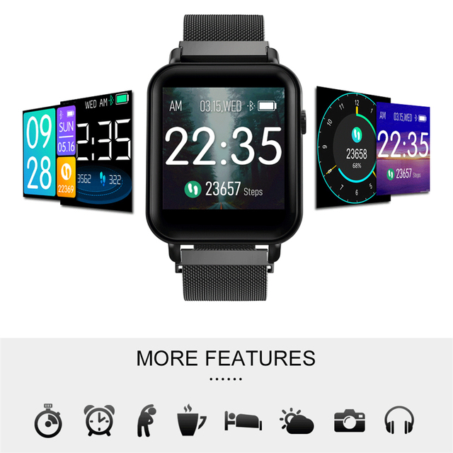 Y6 Pro Smart Band Support Heart Rate Blood Pressure oxygen Monitor IP68 Waterproof fitness tracker smart bracelet watch 4