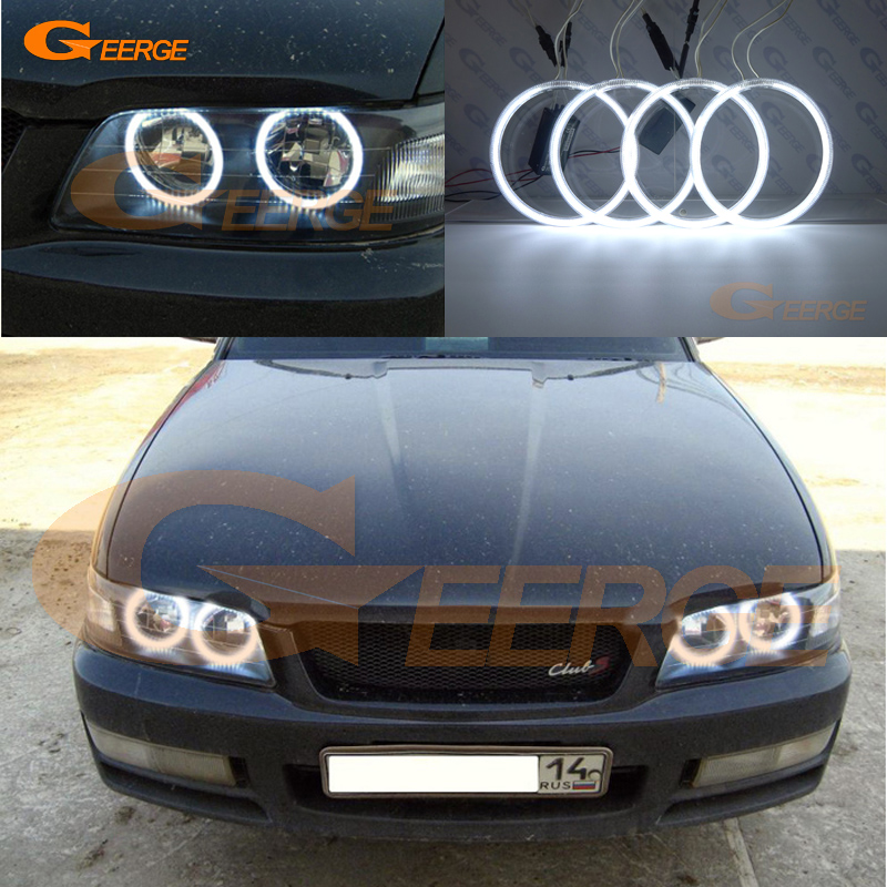 For Nissan Laurel Club S C35 1997 1998 1999 2000 2001 2002 Excellent Ultra bright illumination CCFL Angel Eyes kit Halo Ring for alfa romeo 147 2000 2001 2002 2003 2004 halogen headlight excellent ultra bright illumination ccfl angel eyes kit halo ring