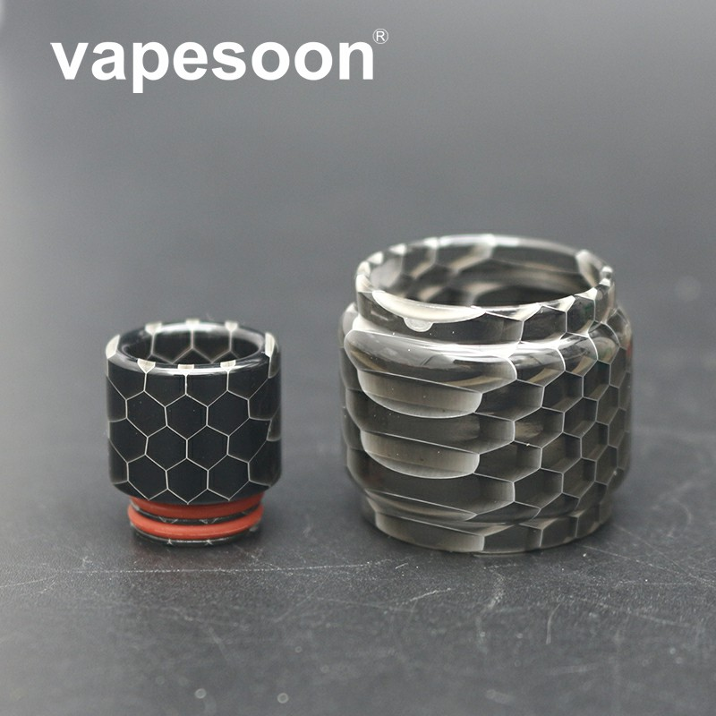 vapesoon colorful snake pattern Acrylic bubble tube & drip tip kit for SMOK TFV12 Prince atomizer tank 6 colorvapesoon colorful snake pattern Acrylic bubble tube & drip tip kit for SMOK TFV12 Prince atomizer tank 6 color