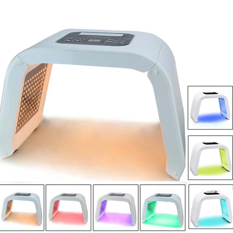 4 Color 7 Color LED Light Photon Therapy LED Facial Mask Device Skin Rejuvenation Acne Remover