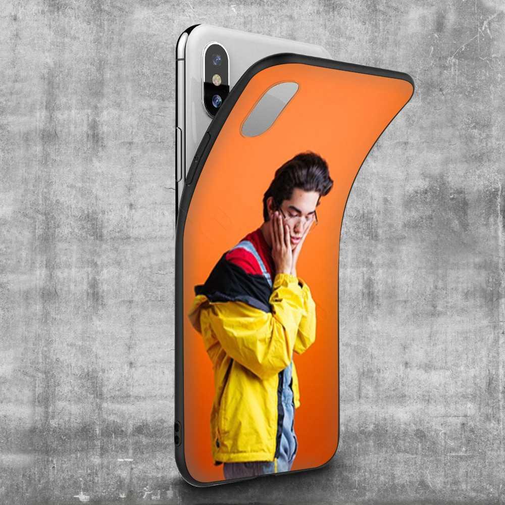 Lavaza Conan Màu Xám dành cho iPhone 11 Pro XS Max XR X 8 7 6 6S Plus 5 5S SE
