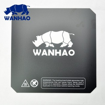 1pcs Wanhao i3 V2.1 3D printer spare parts printing heated bed sticker similar with Buildtak i3 heated plate 200mm/214mm/220mm image