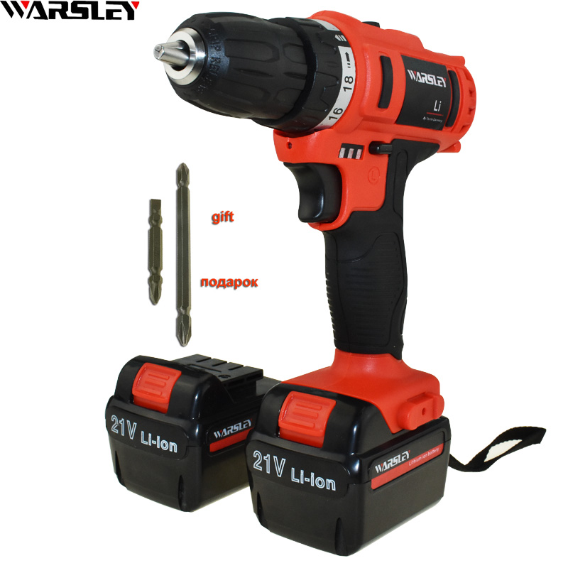 21v Electric Batteries Screwdriver Power Tools Cordless Drill Electric Drill Battery Drill Electric Screwdriver Mini Electric free shipping brand proskit upt 32007d frequency modulated electric screwdriver 2 electric screwdriver bit 900 1300rpm tools