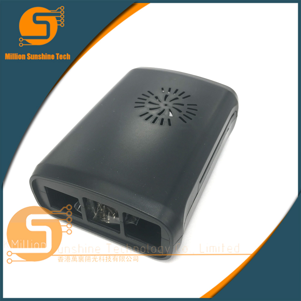 ABS Plastic Case Cover Shell Enclosure Box For Raspberry Pi 2 Model B /& Pi 3 BE