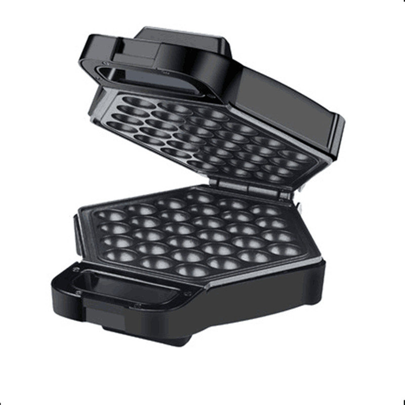 220V Automatic Electric Eggette Waffle Maker Machine Non-stick Household Waffle Machine For DIY Breakfast HongKong Eggette household mini waffle machine diy breakfast machine baking tools cake machine electric waffle machine 220v 750w rmdm200