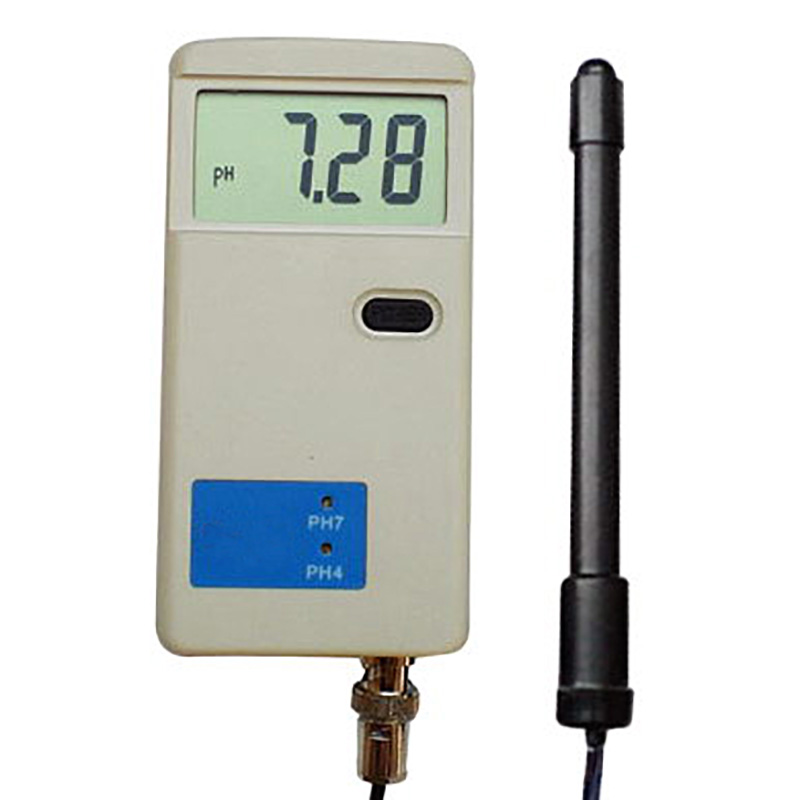 Portable pH Meter Acidity Tester High Accuracy BNC replaceabe probe sensor electrode ATC 0.05pH rugged durable 9V battery