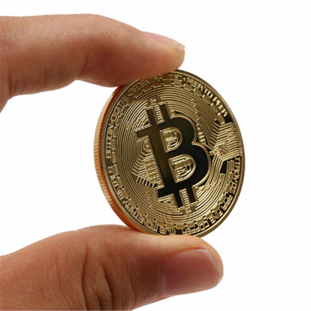 1pc Per La Festa di Halloween Cosplay Per Bambini Divertente Bitcoin Moneta Da Collezione BTC del Tesoro Dei Pirati Monete Puntelli Giocattoli