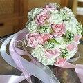 2016 Романтический Свадебный Свадебный Букет Украшения свадебные цветы свадебные букеты свадебные аксессуары buque де noiva