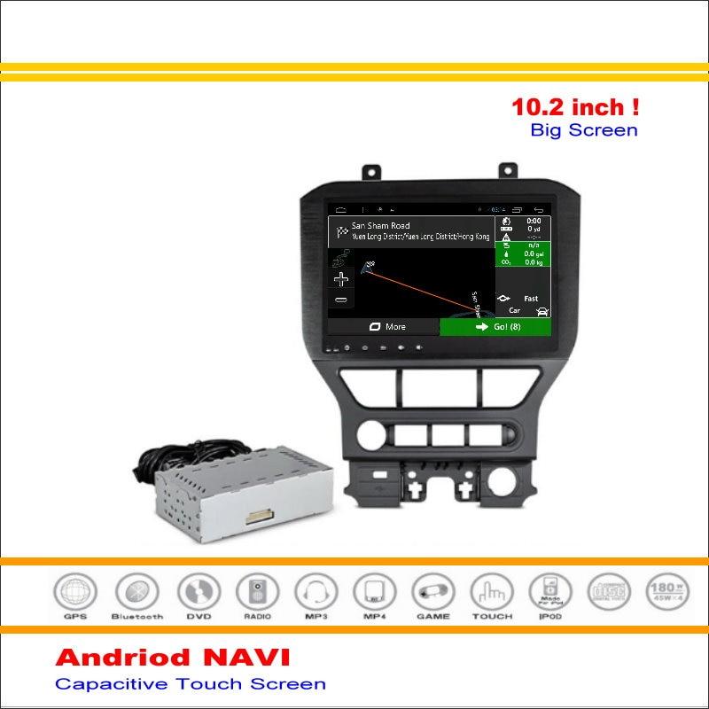 Android Sistema de Navegación GPS del coche Para Ford Mustang 2015 ~  de Radio S
