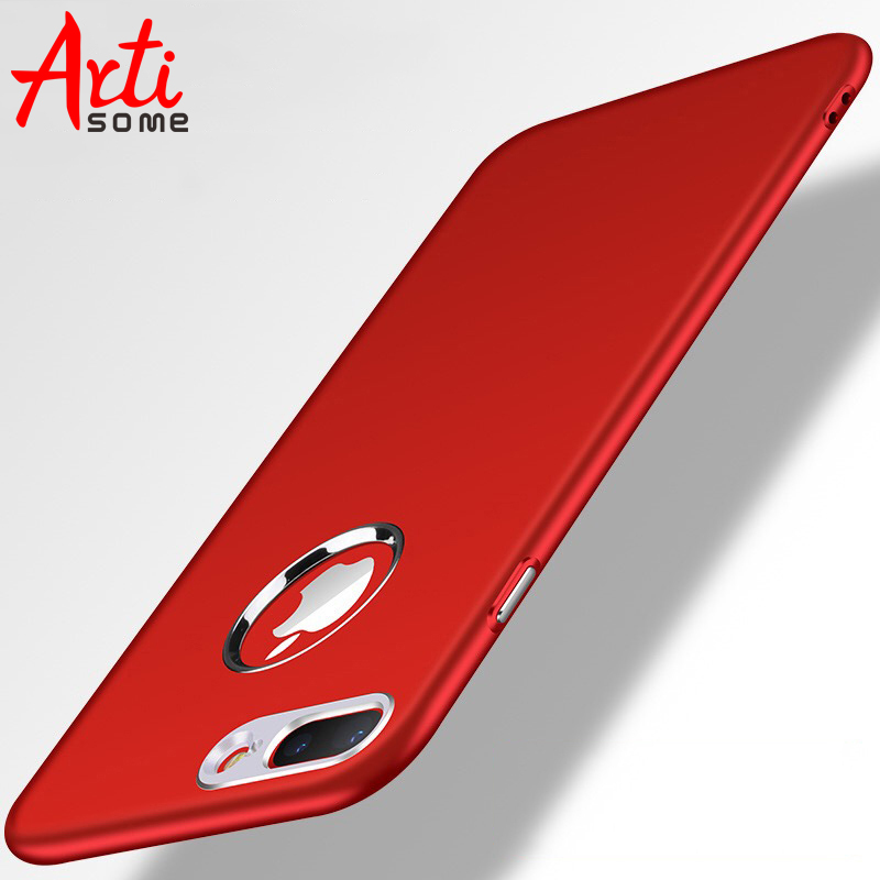 Galleria fotografica Artisome Phone Cases For iPhone 6 6S 7 8 Plus Case Silicone Luxury TPU PC Button Back Cover For iPhone 8 7 6 6S Plus Case Coque