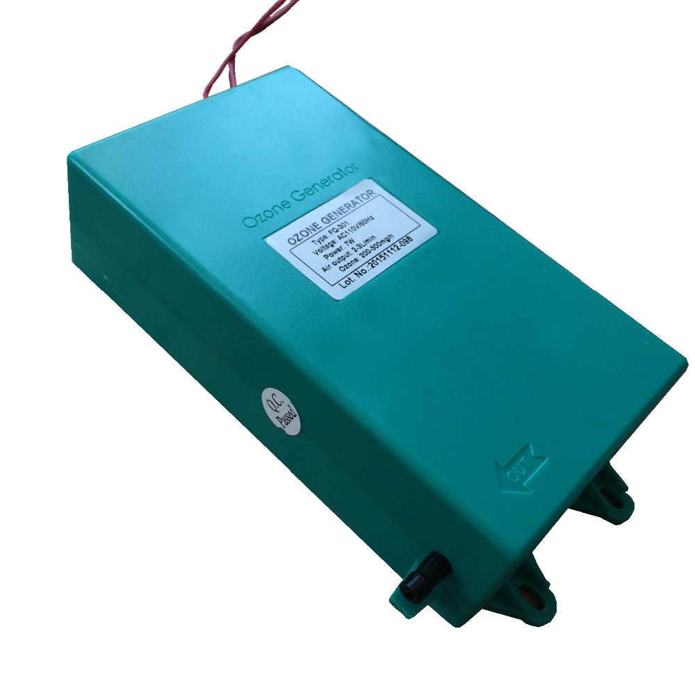 220 ボルト 110 ボルト 10 ワット家庭用プレ濾過オゾン水フィルター青またはダークグレーオゾン発生器水族館水ピッチャー FQ-301