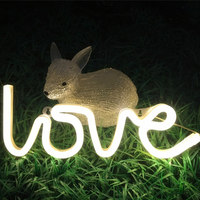 New LOVE Letter Led Modeling Lights Neon Lights With Modeling Lights Christmas Day Wedding Venue Decoration
