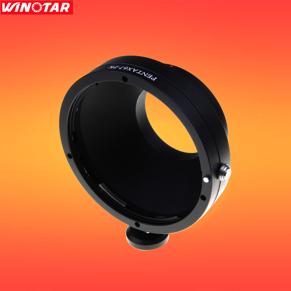 Pentax 67 PK67 lens to Pentax PK K Mount Adapter K-1,K-3,K-5,K-7,Kx,Kr,K-30,-K50,K-70,D50,Pentax Q,K20D K10D K100D K200D K-5IIs jintu 420mm 800mm super telephoto lens zoom lens t2 adapter for pentax k3 k5 k7 k20d k s1 k 50 k 30 k5 iis k 7 k 3 k2 camera