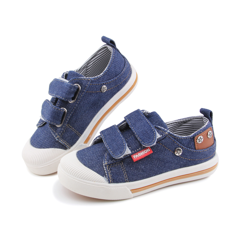Denim Children Shoes Girls Sneakers Kids Shoes Jeans Denim Baby Toddler Shoes