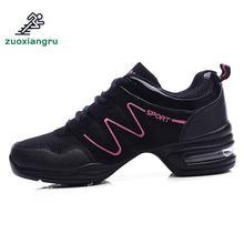 цена на New Soft Outsole Breath Dance Shoes Women Sports Feature Dance Sneakers Jazz Hip Hop Shoes Female Dancing Shoe Modern Dance Shoe
