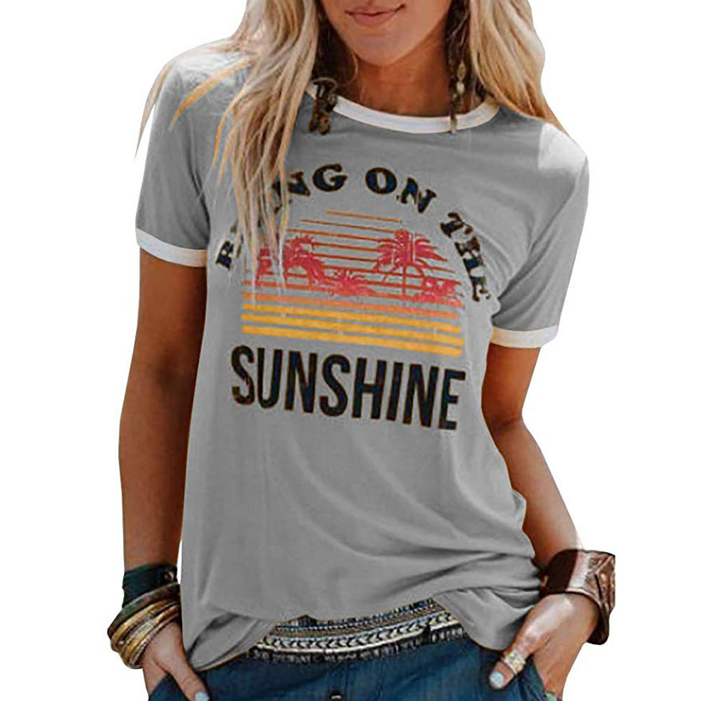 2019 Summer Hot Women shirt Women's T-Shirts