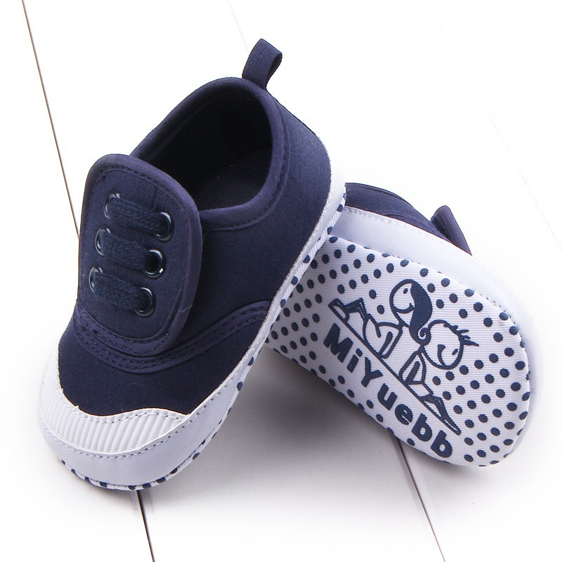 Baby Breathable Canvas Shoes Comfortable Girls Baby Sneakers Kids Toddler Shoes