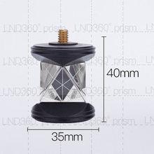 Nouveau Mini prisme plaqué argent 360 degrés prisme uniquement des têtes de prisme