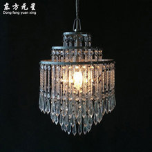little crystal lighting modern pendant lamp for hallway and dining room coffee Dia26 H38CM Sale Seller