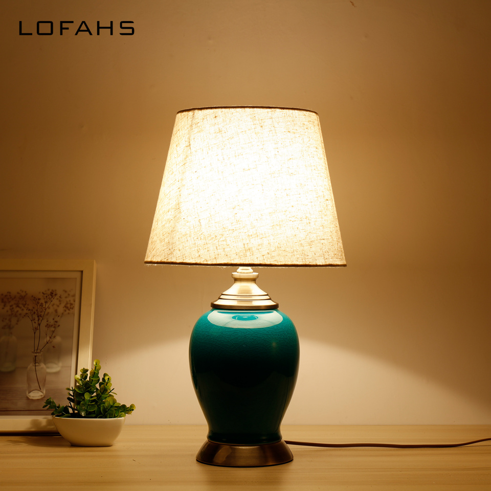 Bed Table Lamps Us 109 6 20 Off Table Lamp Porcelain Bedside Lamp China Desk Lamp For Bedroom Nightlights Bed Lamp Deco Home Mariage Maison Luminaria Yx9016 In Led