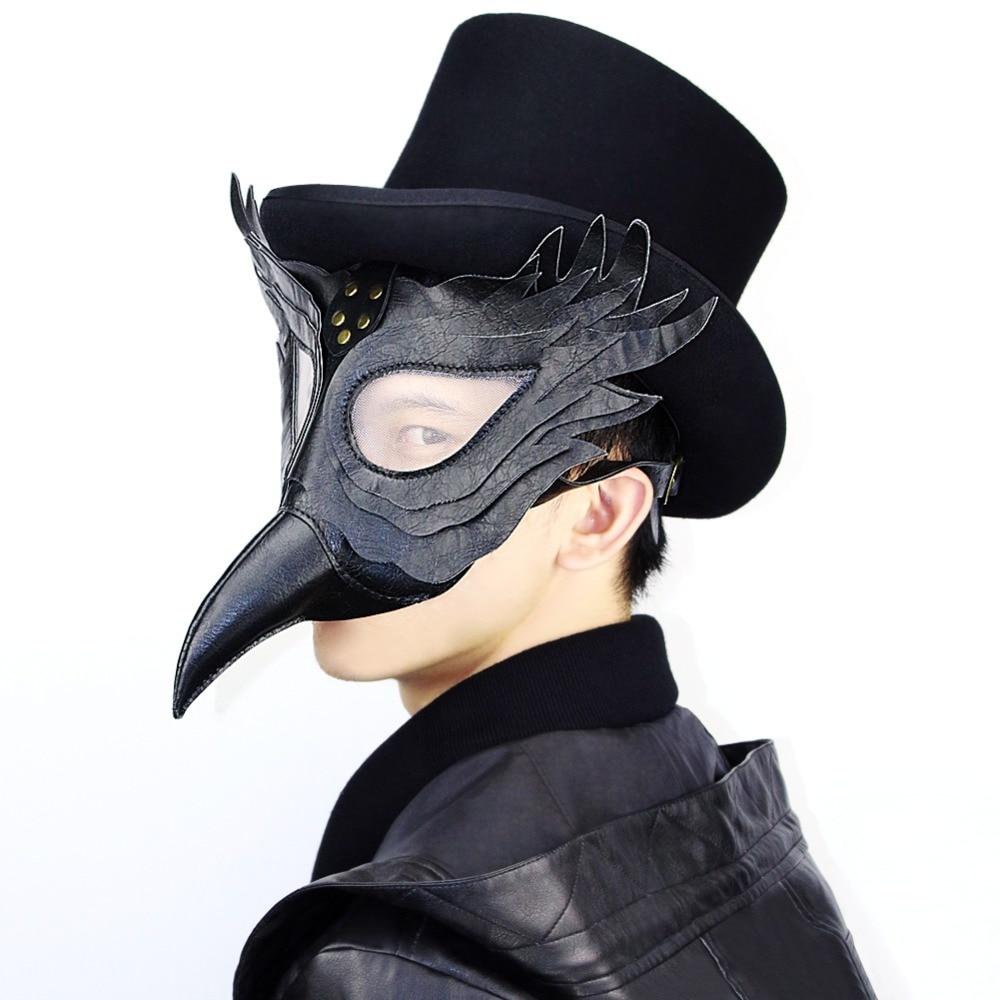 Steampunk Plague doctor birds Halloween Cosplay anime masquerade Party mask