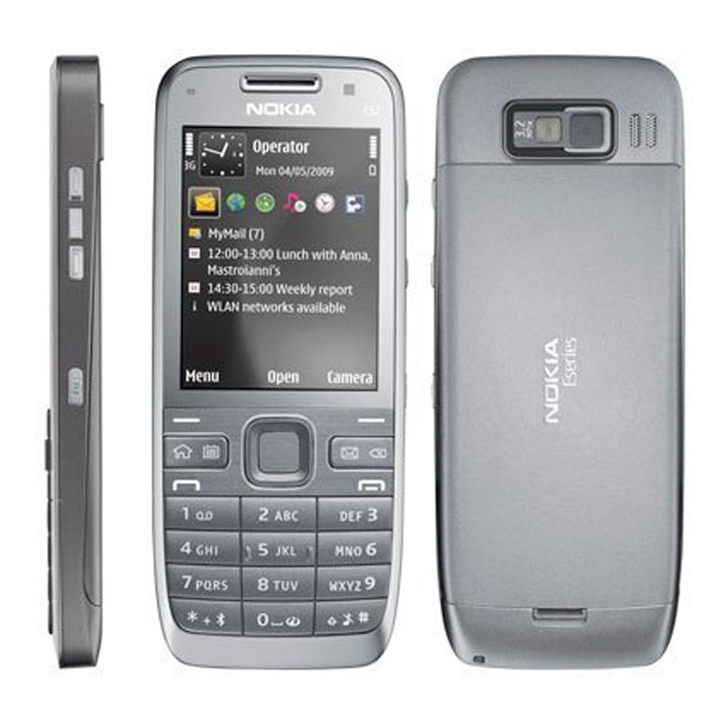nokia keyboard phone. 100% original nokia e52 mobile phone 3g wifi unlocked russian keyboard arabic cellphones-in phones from cellphones \u0026 telecommunications