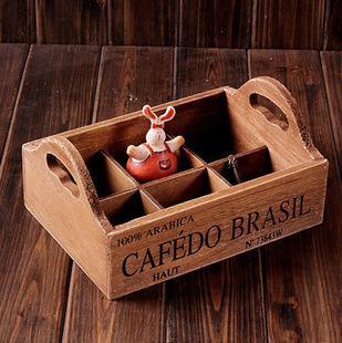 Z The Old Wood Box Desktop Storage Coffee Table Tea Jewelry Desk Orgainzer In Bo Bins From Home Garden On Aliexpress