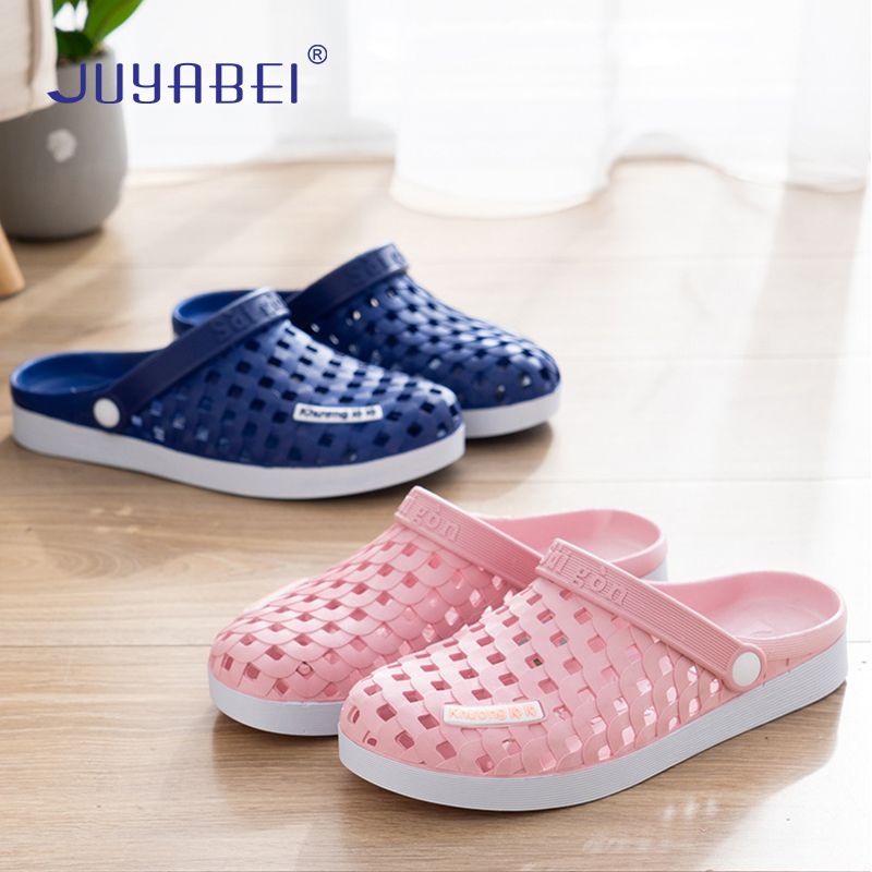 Quality Summer Nurse Doctor Anti-skid Thick-soled Surgical Slippers Men And Women Home Slippers Hospital Laboratory Work Shoes