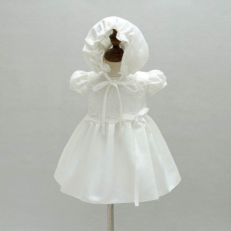 5a2d81c5a5 Detal Newborn Baby dziewczyny Brithday sukienka chrzest chrzciny suknia  sukienka biała księżniczka haft sukienki czapki dla noworodka chrzest 9666  w Detal ...