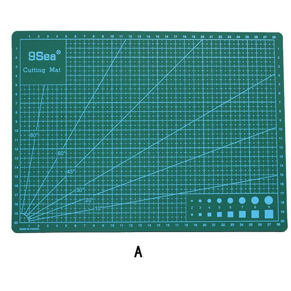 30*22cm Cutting Mats A4 Grid Double-sided Plate Design Engraving Model Mediated Knife Cut Cardboard School Office Supplies R20