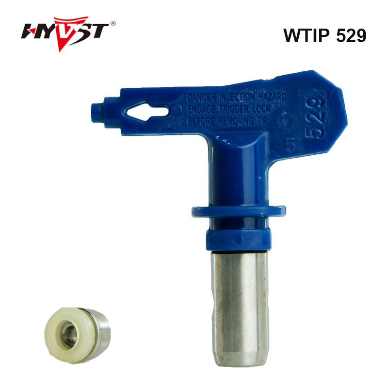 Aftermarket  Airless Spray Gun Tip WTIP 529 Nozzle sorts of Series parts Spray gun Tips Paint Sprayer Tools aftermarket electric airless paint sprayer gun spray gun for paint spray gmax 390 395 490 495 with 517 nozzle tip 288428