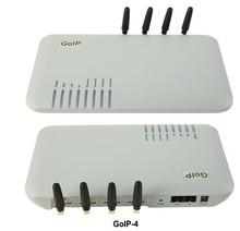 Быстрая Доставка! goip-4 gsm шлюз Quad Band GOIP 4 GSM Voip шлюз 4 СИМ-Карты/Каналов Goip GSM VOIP беспроводной терминал