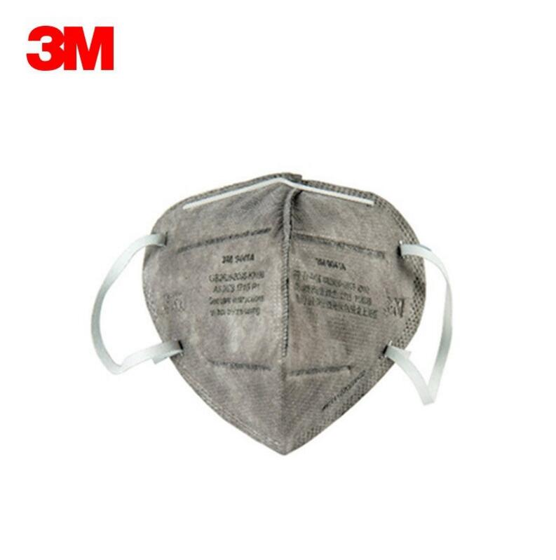 3M 9041 anti-particle activated carbon mask (ear strap type) KN90 dust smog disposable mask крепление подножки 10 047 828