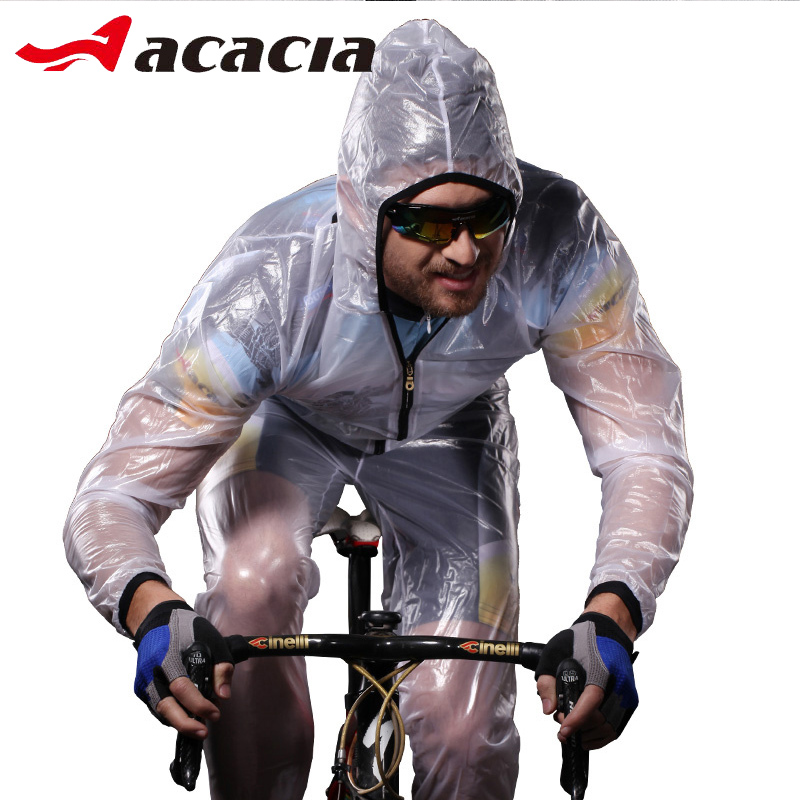 Impermeable Bicicleta Cycling Raincoat PVC Coats for Rain Motorcycle Unisex Raincoat Waterproof Motorcycle Pants for Adults 9971 image