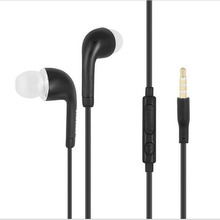 3.5mm In-ear Stereo Headset Earphone+Microphone for Samsung Galaxy S7 S6 S5 S4 mini Note 4 3 Tablets
