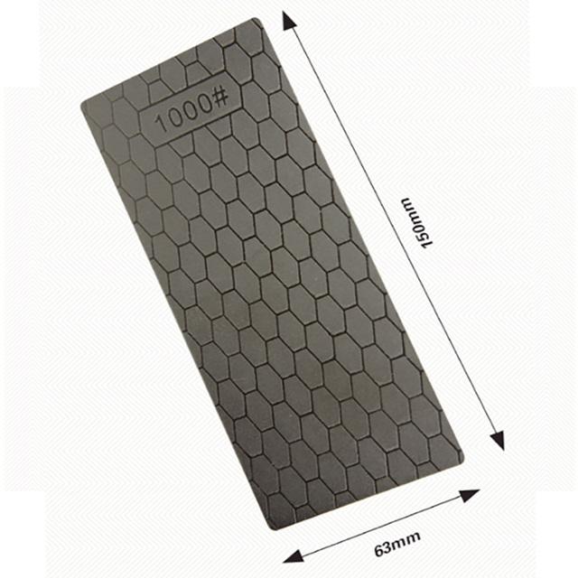 Portable Diamond Sharpening Whetstone – Knife Sharpener Kitchen Grinding Tool – Grindstone