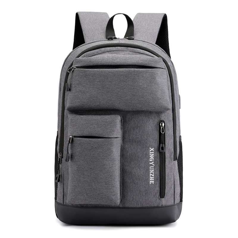 2019 USB Unisex Design Backpack Book Bags for School Casual Rucksack Daypack Oxford Canvas Laptop Fashion Man Backpacks