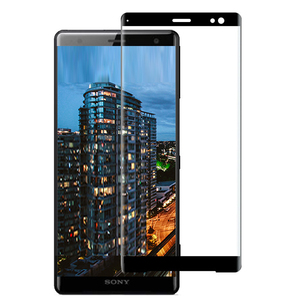 Image 2 - Full Glue Full Cover Curved Tempered Glass For Sony Xperia XZ3 Screen Protector protective film For Sony Xperia XZ3 glass