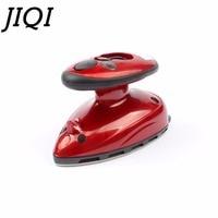 JIQI MINI Handheld Electric Clothes Steaming Iron Travel Garment Steamer Teflon Baseplate Portable Flatiron 110V 220V EU US Plug